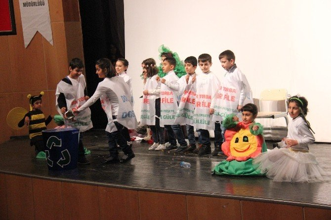 Bingöl'de 'Bir Torba Bir File, Poşete Güle Güle' Kampanyası
