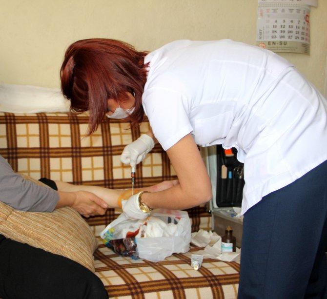 Çankaya'da 5 bin 608 kişi evde bakım hizmeti aldı