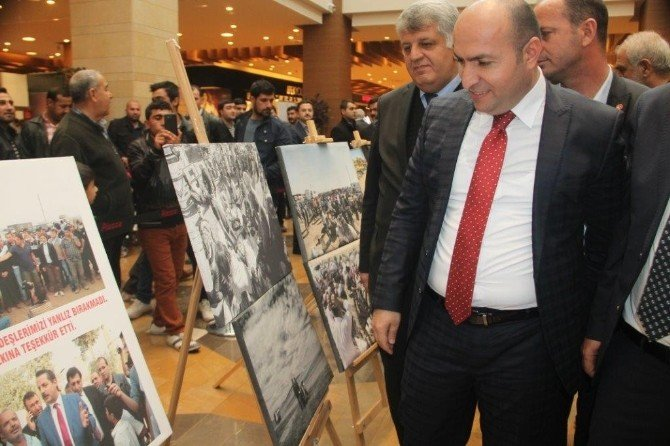 Kobani Dramı Şanlıurfa Piazza'da Sergilendi