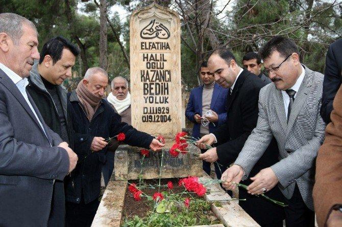 Kazancı Bedih Mezarı Başında Dualarla Anıldı