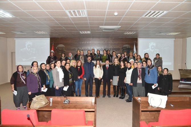 Sarıçam Belediyesi'nden kadınlara sağlık eğitimi