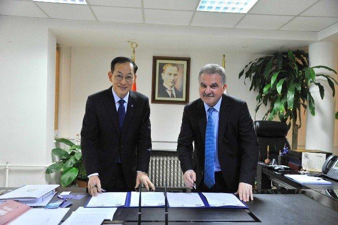 SAÜ Ve Yonsei Üniversiteleri Arasında İşbirliği