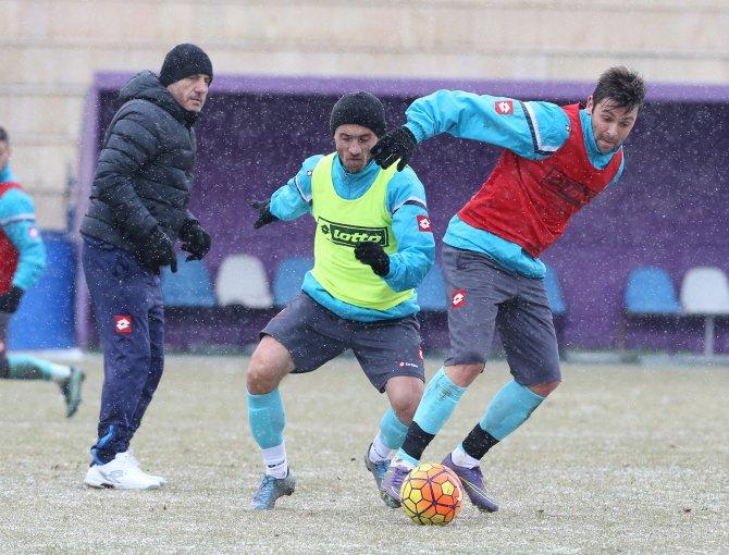 Osmanlıspor'da, Galatasaray maçının hazırlıkları başladı
