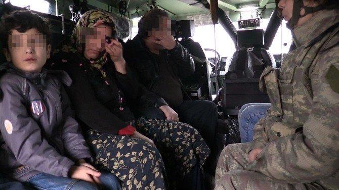 Sur'da Rehin Tutulan Aileyi Kurtarma Operasyonu