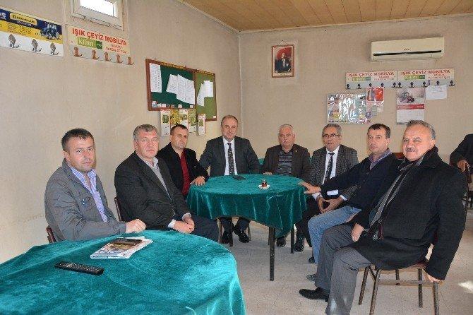 Teski Genel Müdürü Dr. Şafak Başa, Saha Çalışmalarına Devam Ediyor