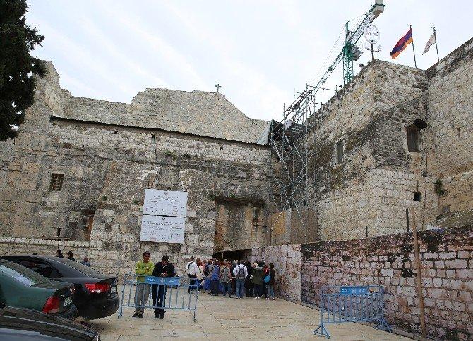 TİKA'dan, Doğuş Kilisesi'nin Restorasyonuna Destek