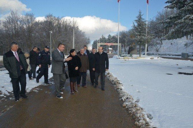 Dereköy Sınır Kapısı'nın Tır Trafiğine Açılması Çalışması