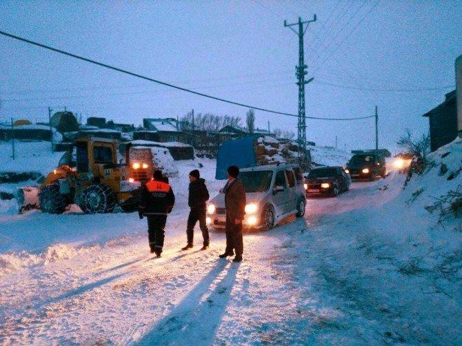 Bayburt'ta Kar Esareti