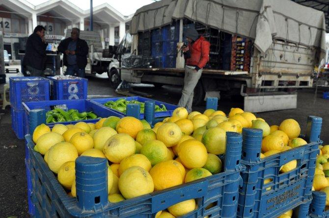 Sebze fiyatları ikiye katlanacak, limon taneyle satılacak