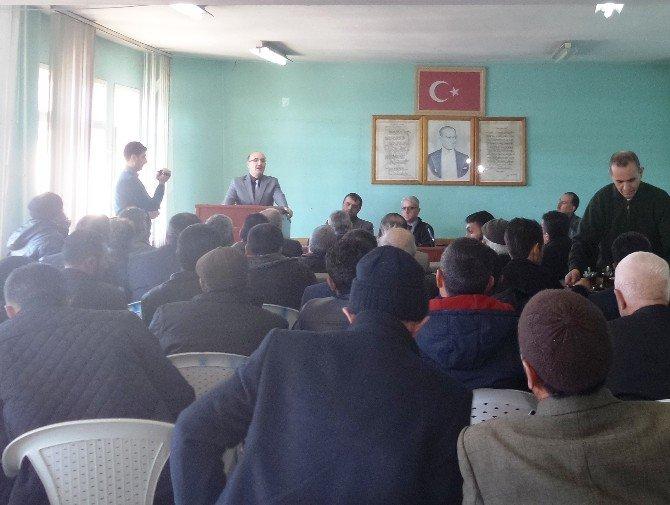 Arapgir'de Halk Elinde Islah Projesi Toplantısı Yapıldı