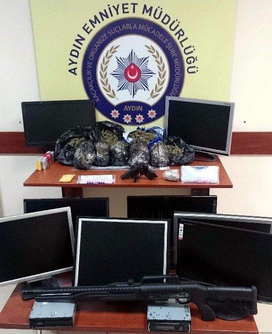 Aydın'da Uyuşturucu Tacirlerine 200 Polisle Şafak Baskını