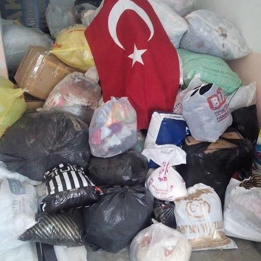 Bademci Köyü'nden Bayırbucak Türkmenlerine Yardım