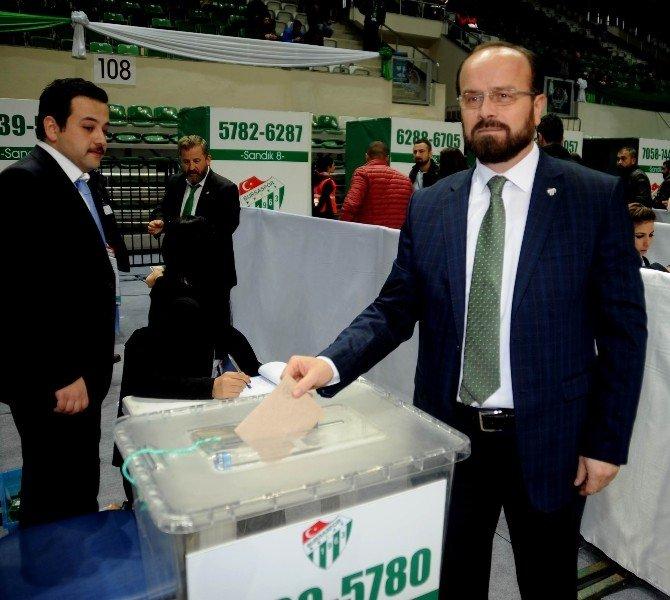Bursaspor'un Yeni Başkanı Ali Ay