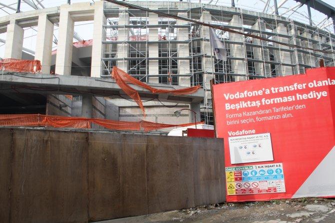 Vodafone Arena'dan acı haber
