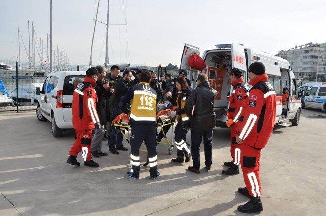 Soğuk Havada Denize Giren Genç Boğularak Hayatını Kaybetti