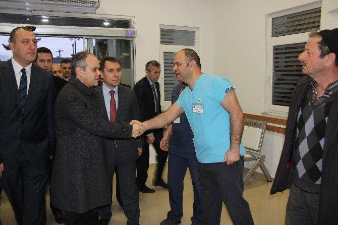 Bakan Kılıç'tan Çarşamba Devlet Hastanesi Ziyareti
