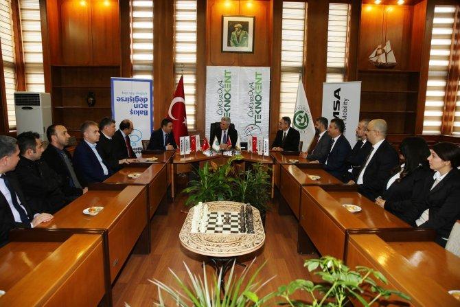 Çukurova TEKNOKENT ile TEMSA arasında işbirliği protokolü imzalandı