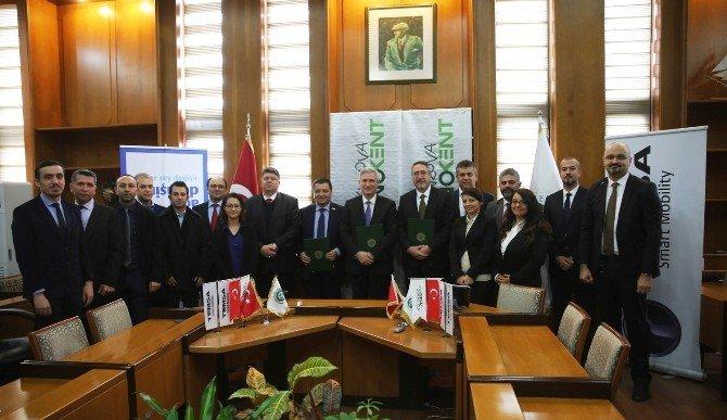 ÇÜ, Teknokent İle Temsa İşbirliği Ek Protokolü İmzalandı