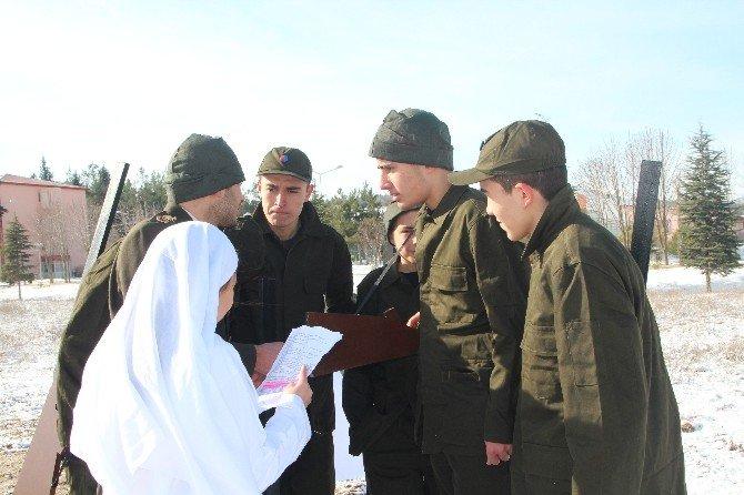 """Lise Öğrencileri """"Çanakkale Savaşı' Konulu Kısa Film Çekiyor"""
