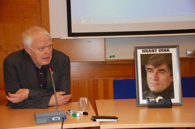 Dink'i anma programında Türkiye'de ifade özgürlüğü ihlalleri konuşuldu