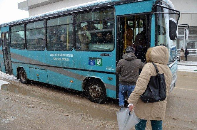 Bursa'da Çevreyi Kirleten Halk Otobüsçülere Şok Haber