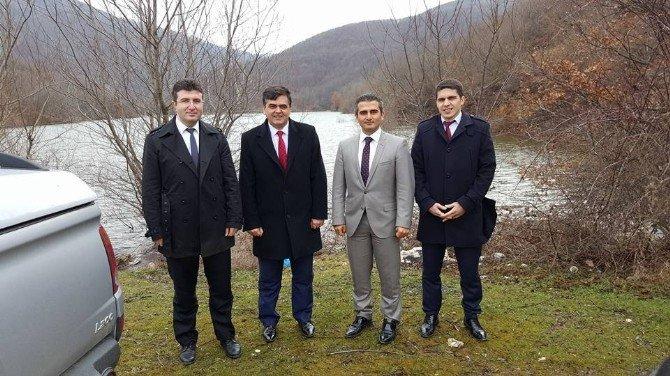 Bebka Yetkilileri Pazaryeri'nin Turizm Potansiyellerini İnceledi