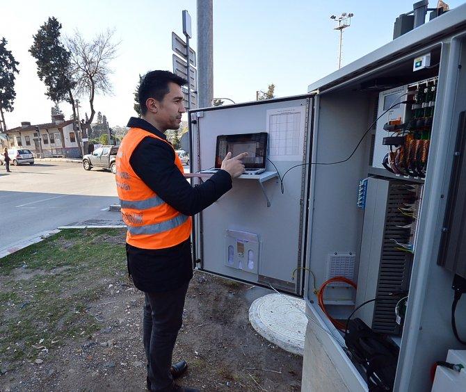 İzmir'in akıllı trafik ssteminde bir adım daha