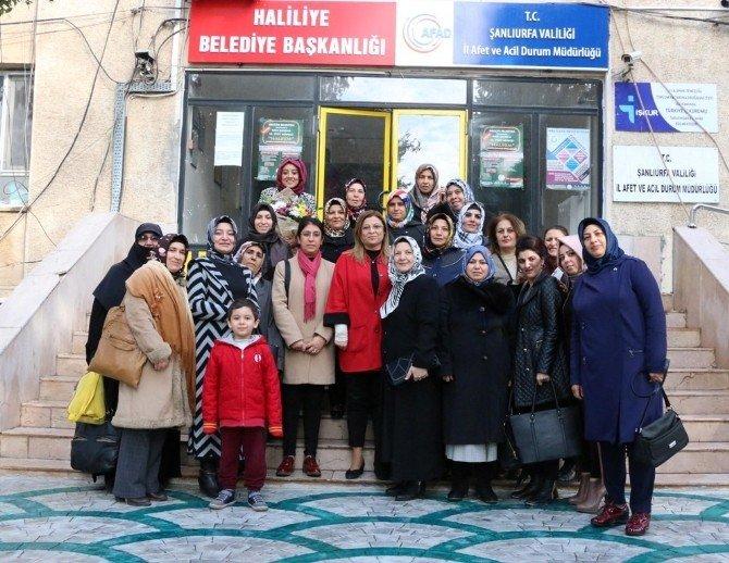 Kadınlardan Demirkol'a Teşekkür Ziyareti