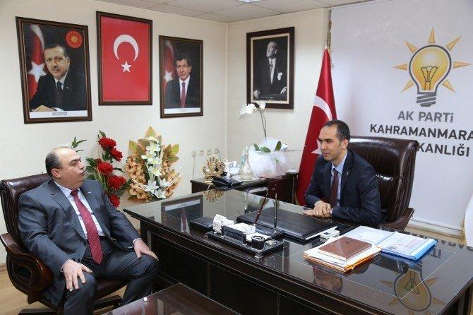 Kmtso Yönetimi AK Parti İl Başkanı Özdemir'e Tebrik Ziyareti