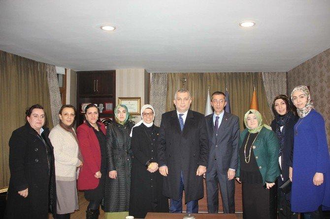 AK Parti Kavakçı Ve Külünk'ü Ağırladı