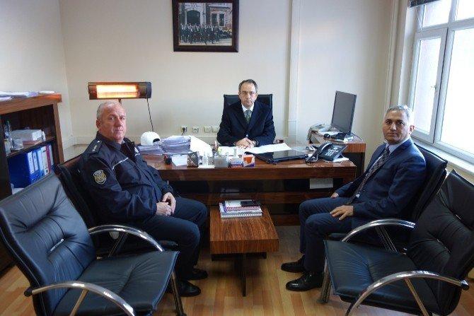 Kaymakam Kubilay, Emniyet Ve Jandarmayı Denetledi