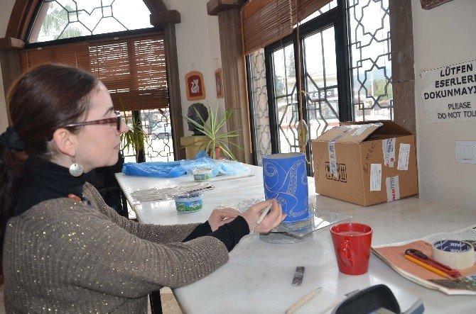 Kemer Belediyesi, Seramik Kur Yoğun İlgili Görüyor