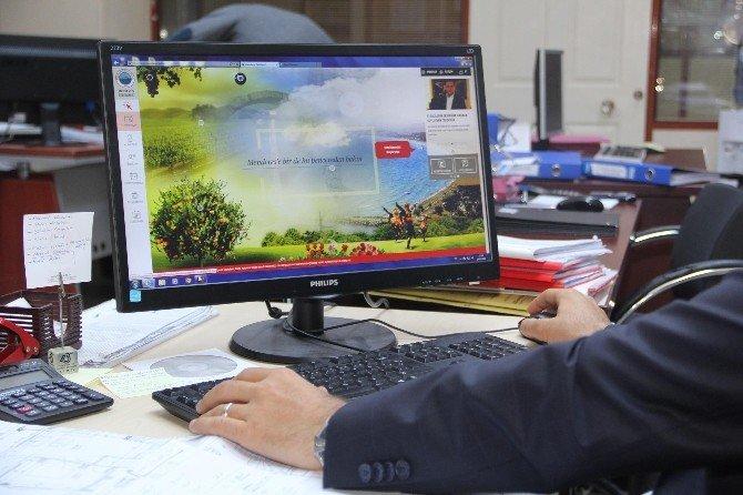 Menderes Belediyesi'ne Yeni Web Sitesi