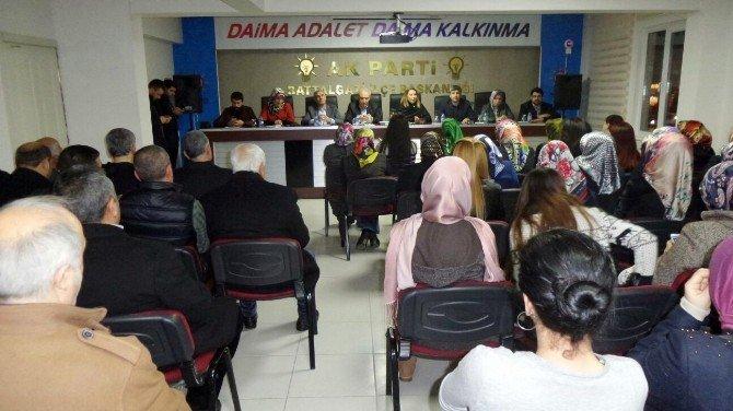 AK Parti Malatya Milletvekili Öznur Çalık