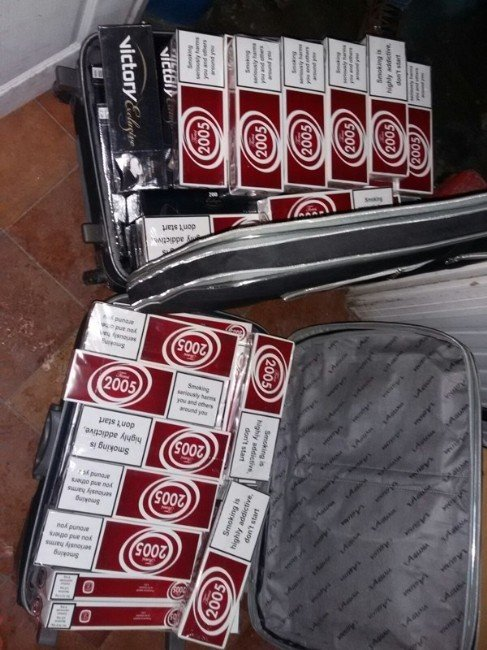 Muş'ta 9 Bin 928 Paket Kaçak Sigara Ele Geçirildi
