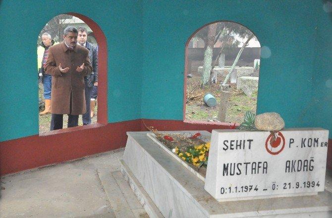Nazilli'de Mahalle Mezarlıkları Bakıma Alındı