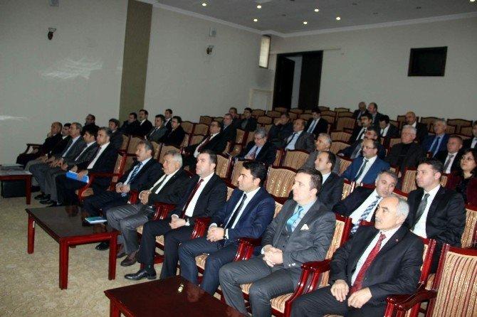 Nevşehir'de 2016 Yılının İlk İl Koordinasyon Toplantısı Yapıldı