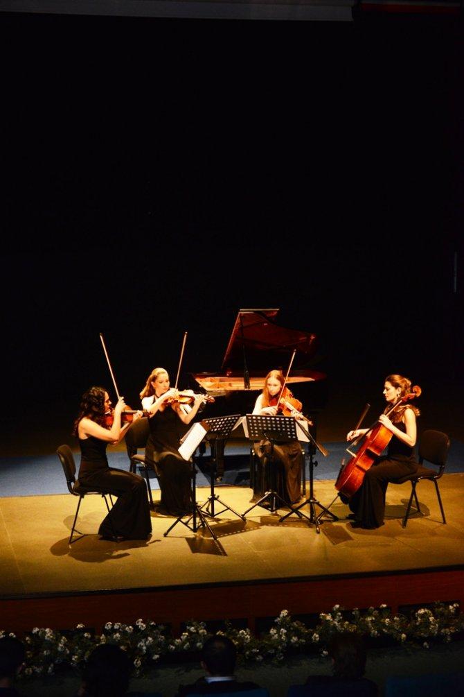 Nemeth Quartet, sanatseverleri müziğe doyurdu