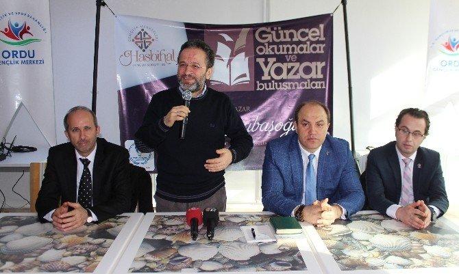 """Karabaşoğlu, Ordulu Gençlerle """"Hasbihal"""" Yaptı"""