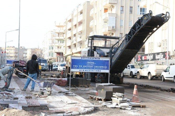 Şanlıurfa'da Prestij Caddeleri Yapılıyor