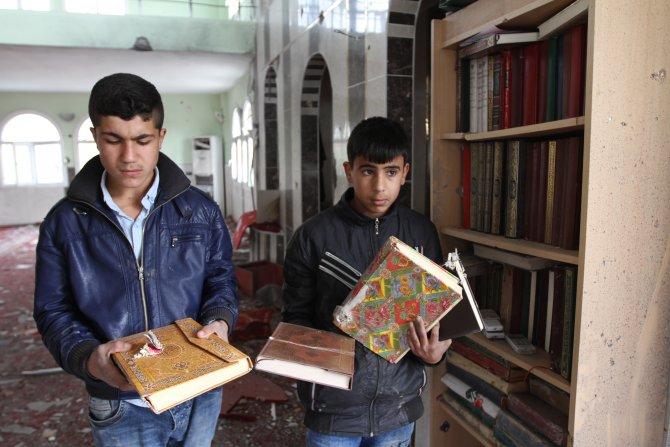 Silopi'deki caminin içler acısı hali