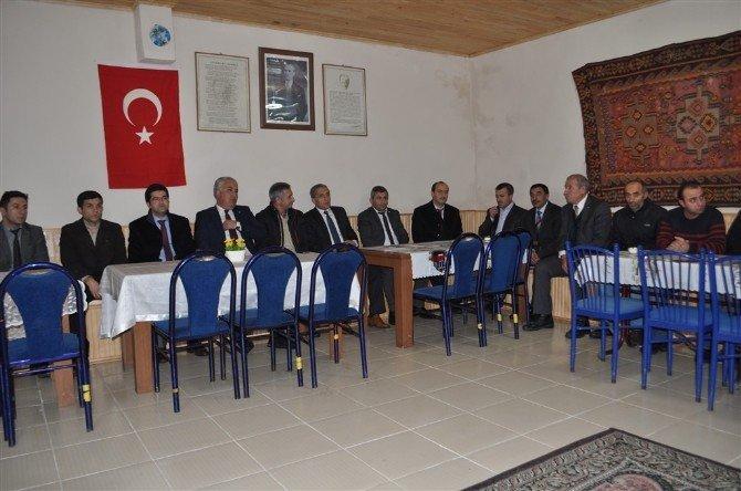 Söğütlü Köy Konağı Ve Taziye Evi Hizmete Açıldı