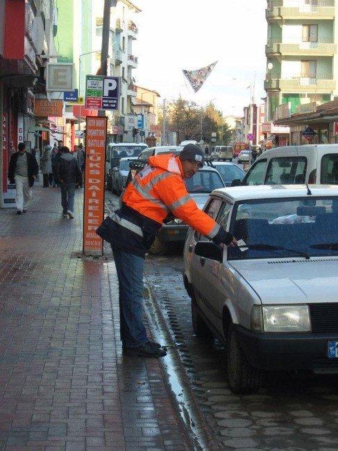 Sorgun'da Otopark Borcu Olan Sürücülere Ödeme Kolaylığı