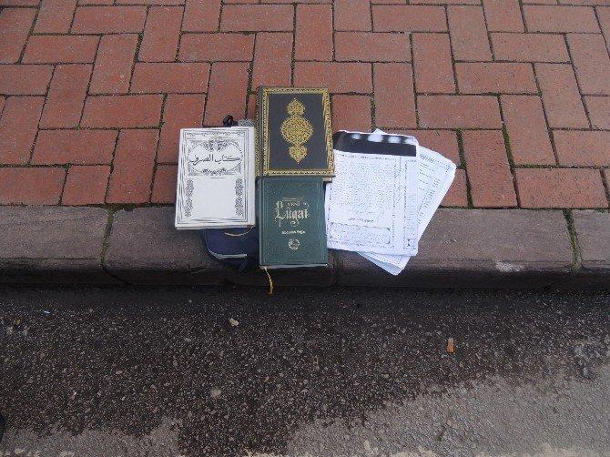 Emniyeti Alarma Geçiren Çantadan Kur'an-ı Kerim Çıktı