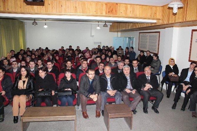 Tosya'da Eğitim Bilişim Ağı Semineri Düzenlendi