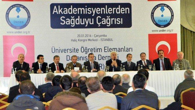 Bildiriyi İmzalayan Akademisyenlere Meslektaşlarından Sağduyu Çağrısı