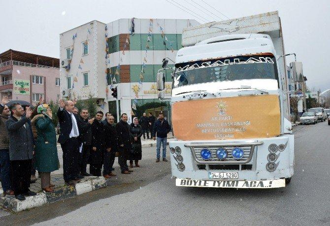 Terör Mağdurlarına Manisa'dan Yardım