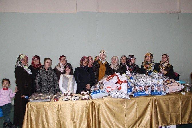 Gönüllü Bayanlar Yetimleri Sıcak Yürekleriyle Kucakladılar