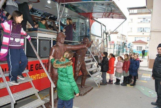 Çanakkale Müzesi Otobüsü Mudanya'da