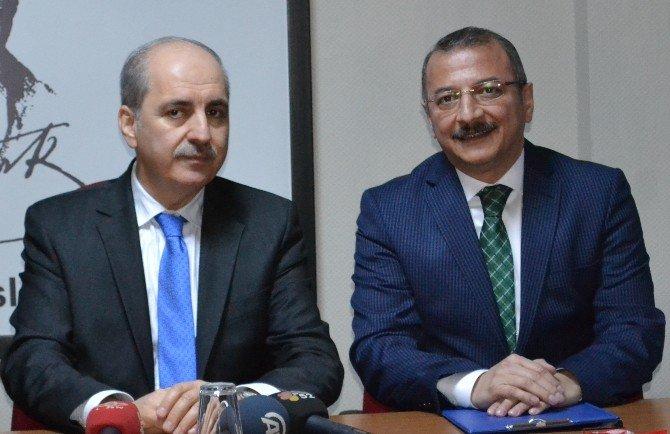 """Kurtulmuş: """"Türk Medyası Milli Olmalı"""""""